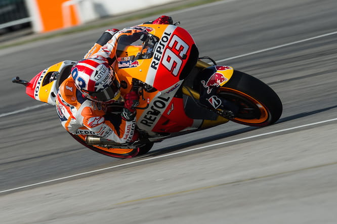 Marc Marquez will start on pole position