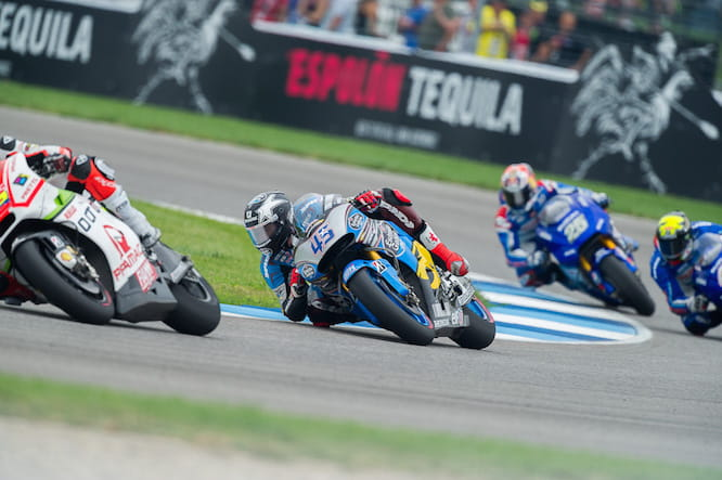 Redding struggled with a lack of grip throughout the race