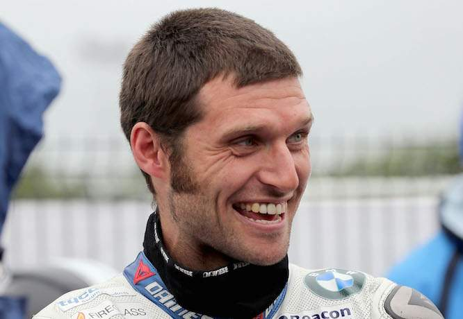 Guy Martin pre-Ulster GP crash