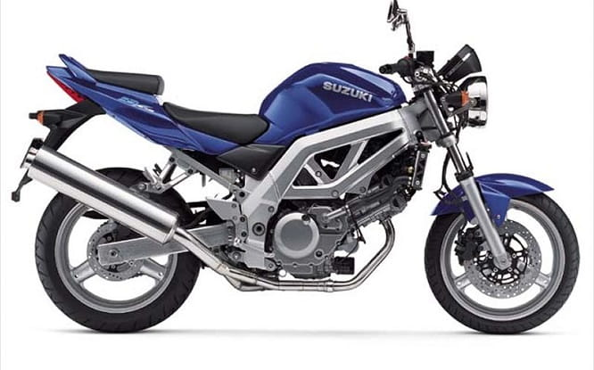 The SV is the unfaired version. This is the 2003 version