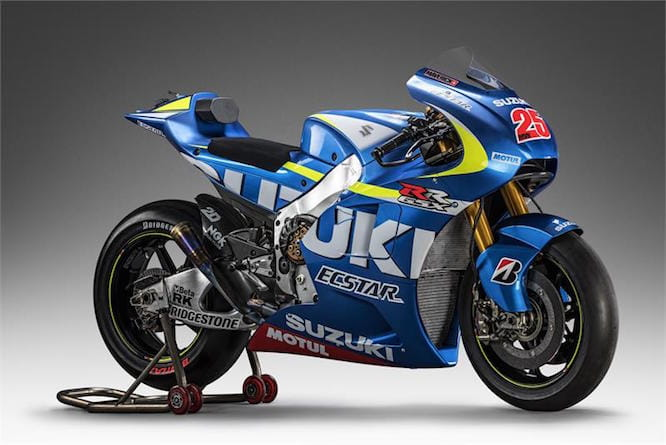 The new GSX-R will bear resemblance to the RR GP bike