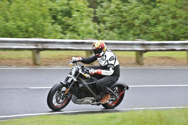 Bike Social's Marc Potter got his first taste of electric motorcycling with Harley-Davidson