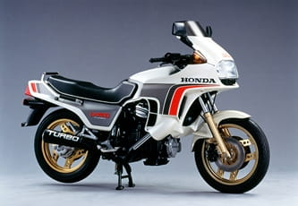 Honda CX500 Turbo from the early 1980's