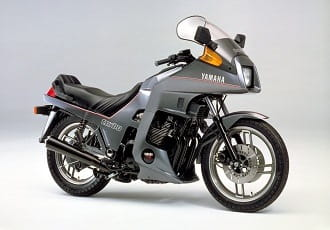 Yamaha XJ650 from the early 80's - popular with turbo-charged bikes