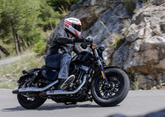 Harley-Davidson updates Forty-Eight and Iron 883