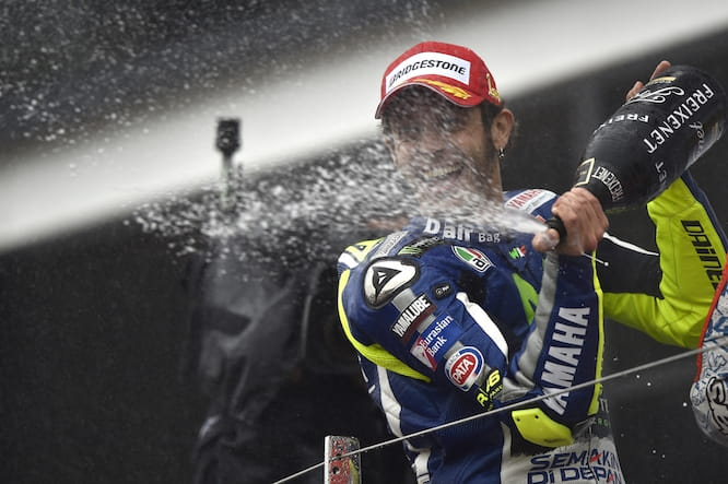 It was Rossi's fourth win of the season