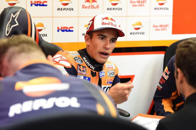 Marc Marquez rules himself out of the title chase