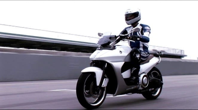 Yamaha's HV-X2, based on a T-Max