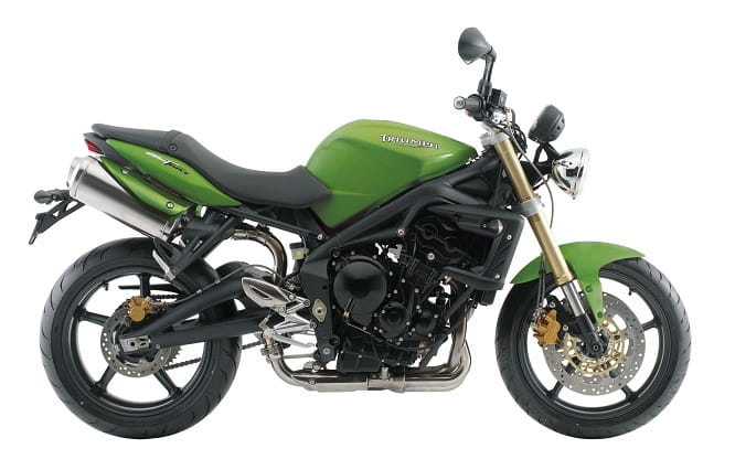 Triumph fans always go nuts for green!
