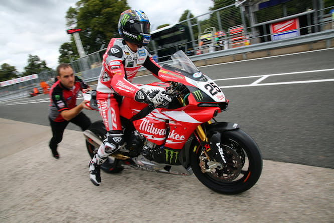 Brookes will start from dead last on the grid