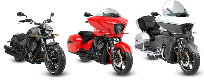 2016 Victory Motorcycle line-up includes subtle revisions