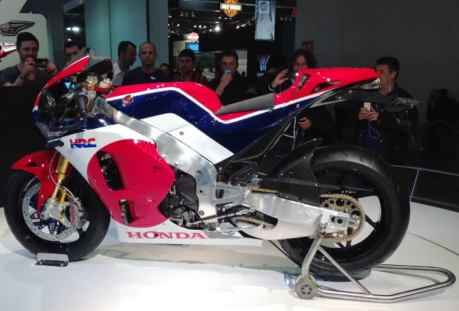 The RC213V-S as it was unveiled last year at the Milan Show.