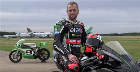 2013 WSBK Champion with his two H2R's