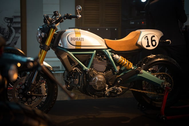 Coolest Scrambler yet? We reckon so.