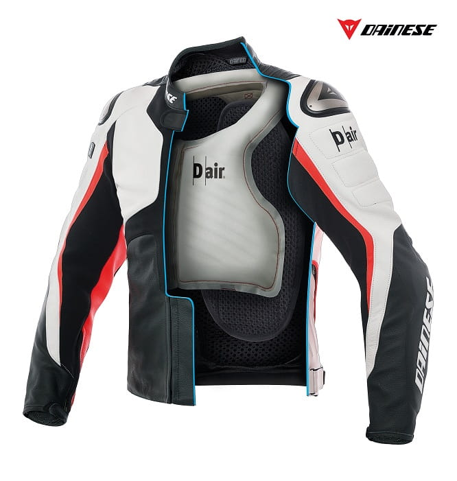 Brand new Misano 1000 D-Air jacket from Dainese