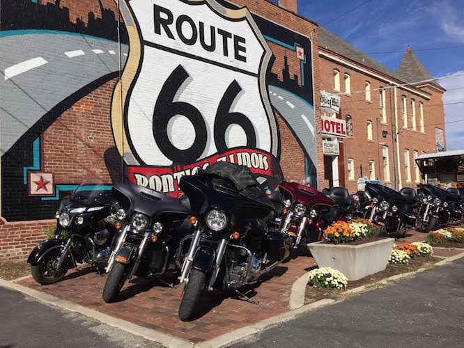 Marc Potter checks in from Route 66