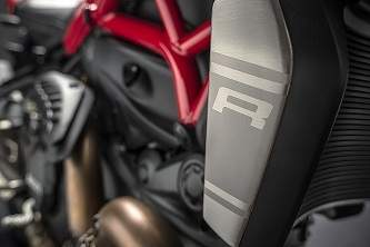 R for Racing. The new monster is the most powerful yet