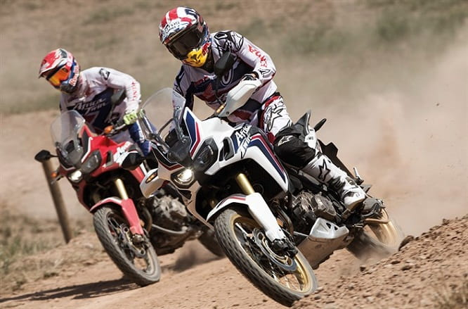 Watch the video of Marquez and Barreda having fun in the dirt