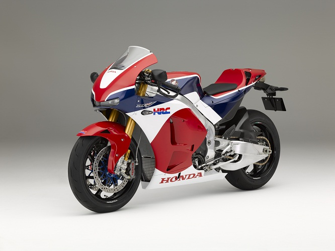 S for Street. This is the MotoGP bike for the road, Honda's RC213V-S