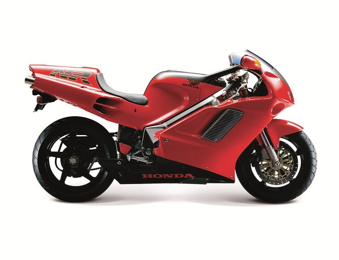 In 1992 it was the most technologically advanced bike of its time, the NR750