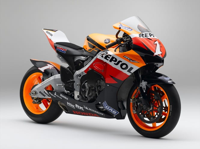 HRC's weapon of choice in 2007 for the start of the 800cc era was the RC212V