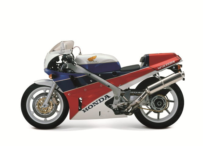 In 1988 Honda launched the VFR750R RC30
