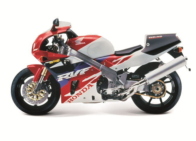 RVF750R RC45 launched in 1994 to great expectation.