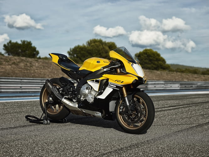 Stunning race livery on the R1 will be available on a special edition model