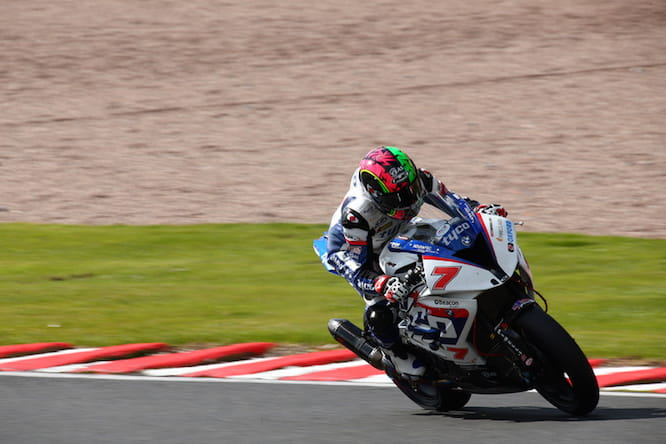 Michael Laverty scraped into the showdown