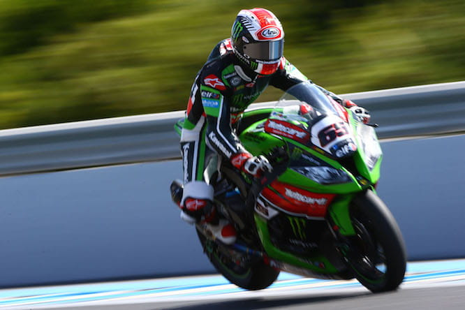 Jonathan Rea could take the world title