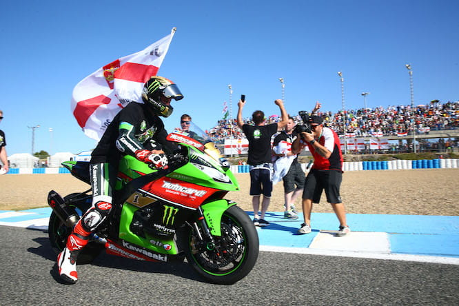 Rea secured the title