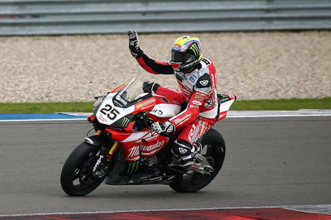 Brookes extended his championship lead with the double in Assen