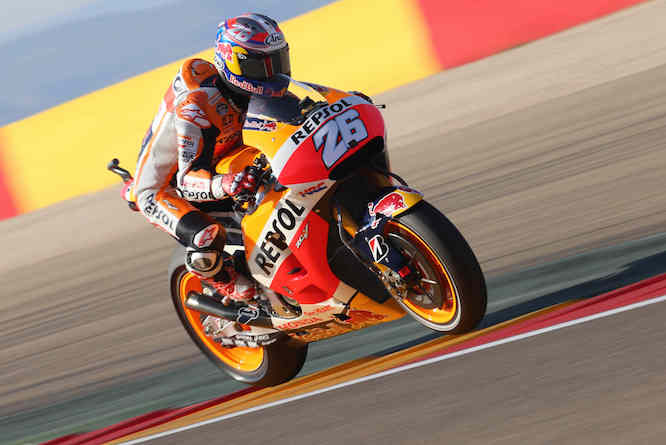 Pedrosa enjoyed his best race of the season