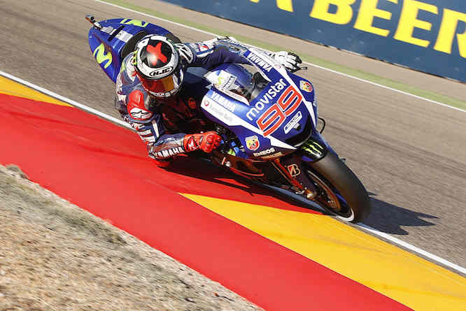 Lorenzo dominated in Aragon