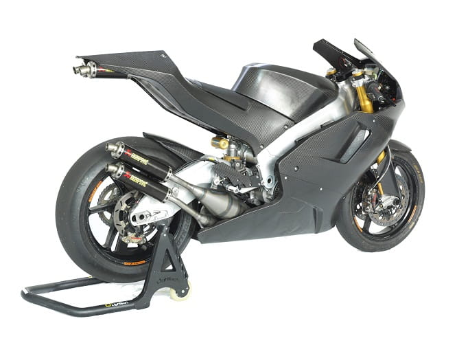 A 500cc bike in a modern chassis