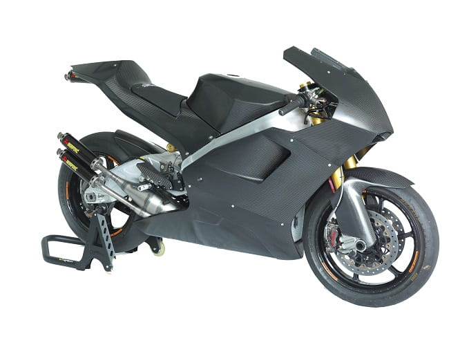Suter's new 500cc GP bike