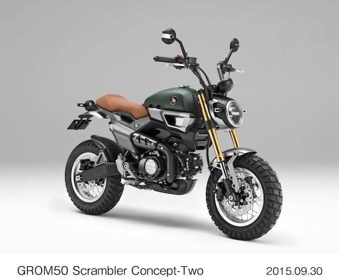 One uber cool Grom Scrambler