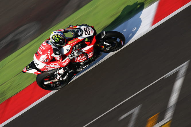 Josh Brookes will start on pole at Silverstone