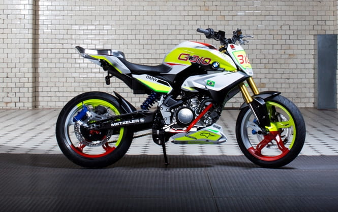 BMW's Stunt G 310 concept on which their entry-level single-cylinder bike will be based