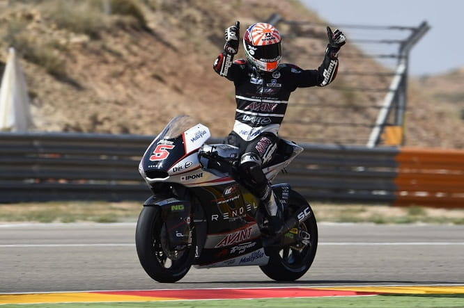 Zarco has been crowned World Champion