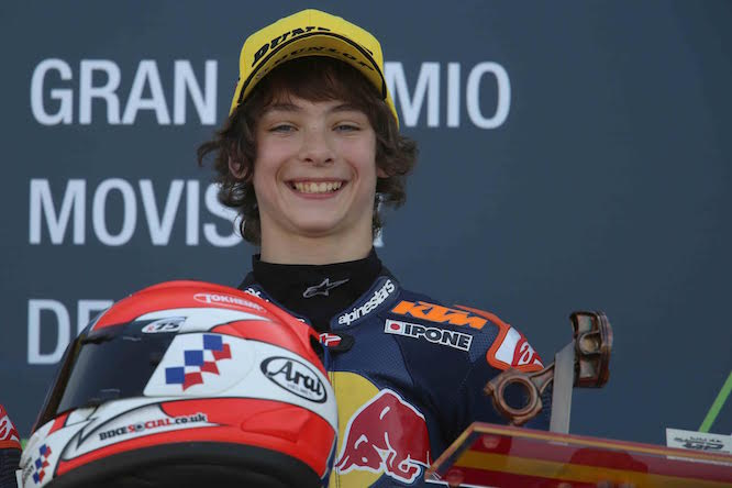 Rory scored his debut podium at Aragon