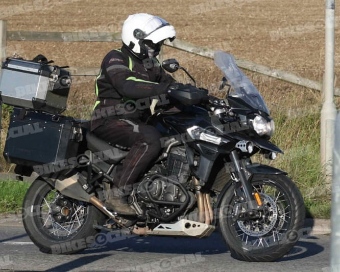 Triumphs XCX Explorer has been spied