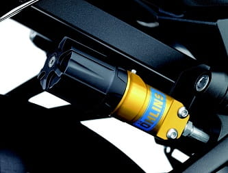 New Ohlins read shock on the Performance model