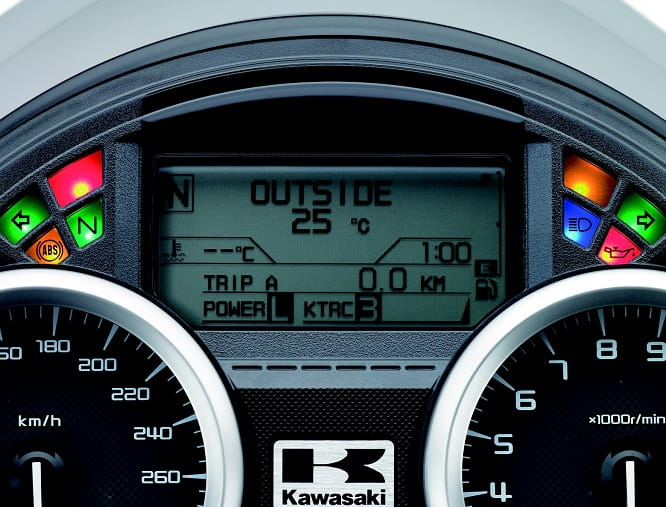 All new instrument cluster