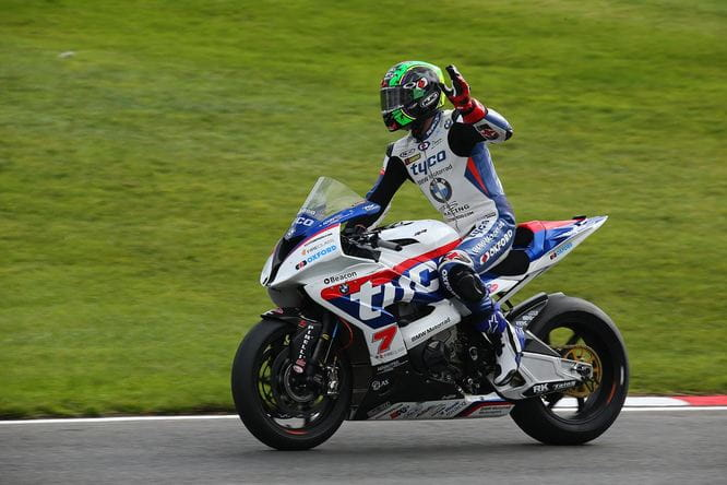 Laverty finally broke his season duck in race three