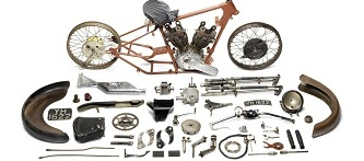 1927 Brough Superior 981cc SS100 Alpine Grand Sport Project, sold for £259,100