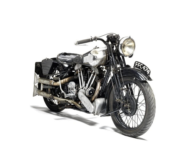 Brough Superior SS100 Olympia Show 1937