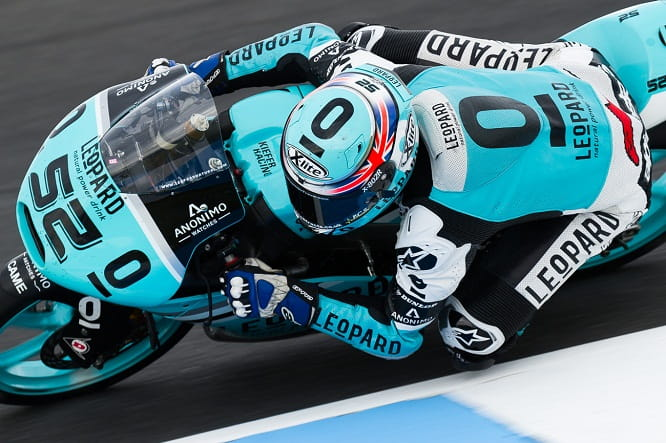 Danny Kent missed out on the championship at Phillip Island