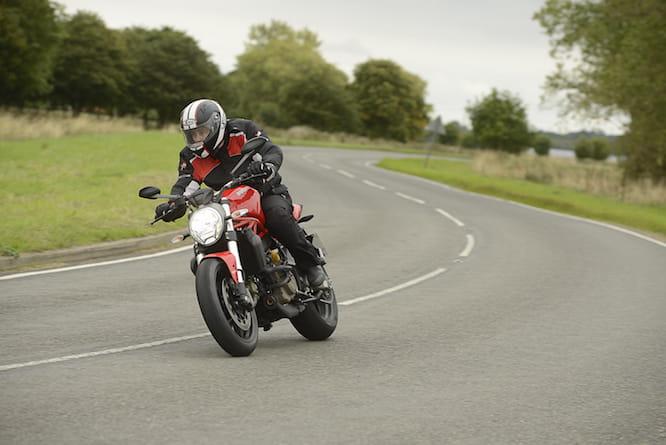 It handles just like you'd expect from a £9000 Ducati
