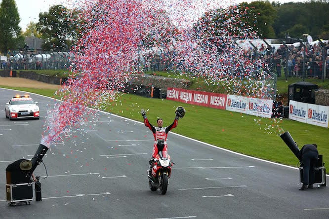 Brookes was crowned champion at Brands